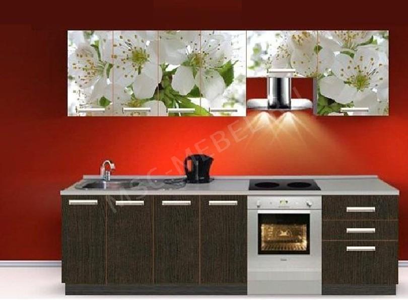Фото Кухня с фотопечатью Валентина - 10