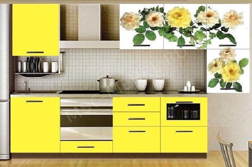 Фото Кухня с фотопечатью Валентина - 7