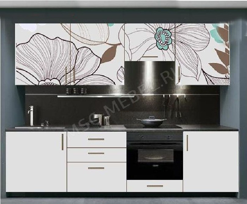 Фото Кухня с фотопечатью Полина - 15