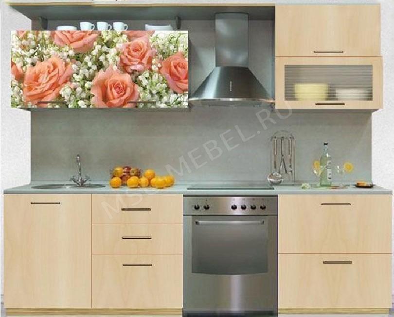 Фото Кухня с фотопечатью Валентина - 16