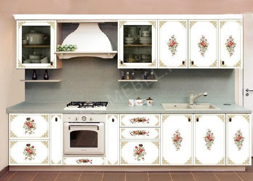Фото Кухня с фотопечатью Анжелика - 1