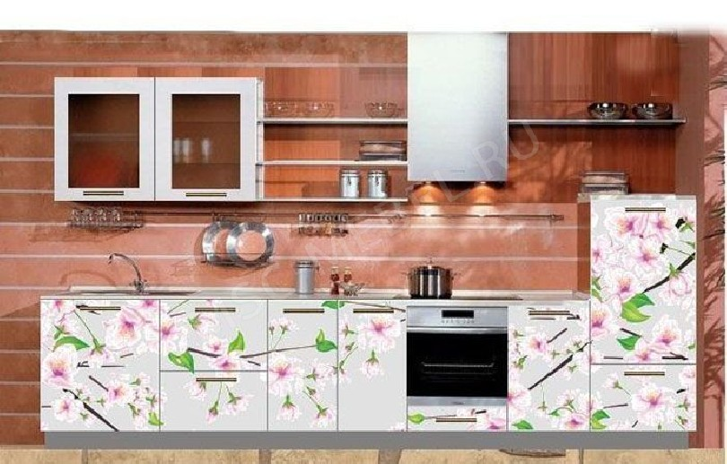 Фото Кухня с фотопечатью Полина - 17