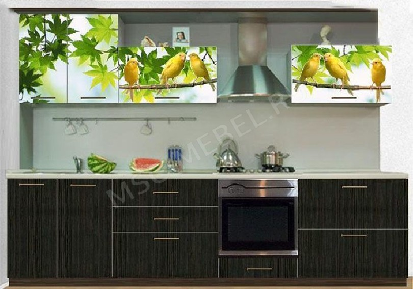Фото Кухня с фотопечатью Марта - 3