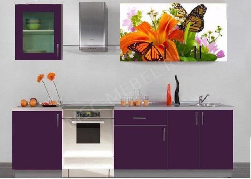 Фото Кухня с фотопечатью Марта - 6