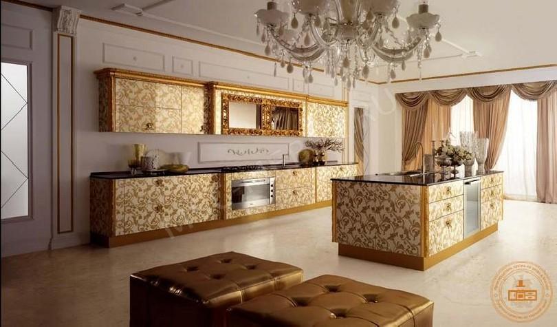 Классическая кухня «Золото»