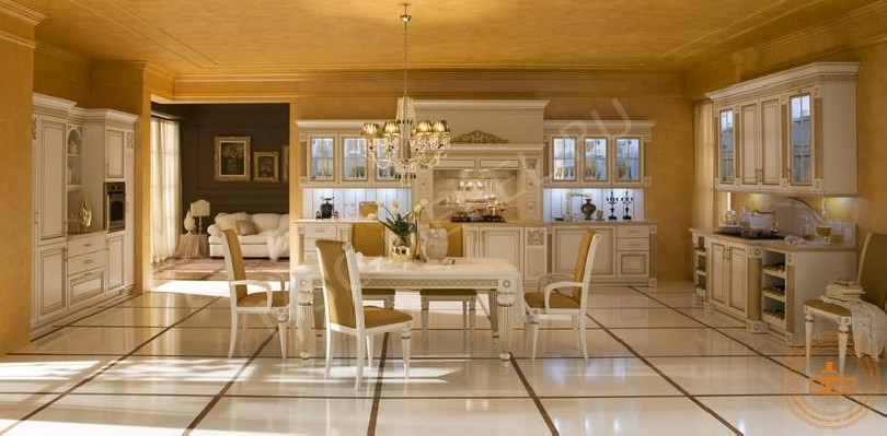 Фото Классическая кухня «Адью»