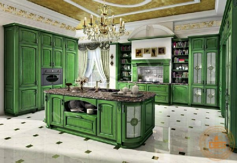 Фото Классическая кухня «Топаз»