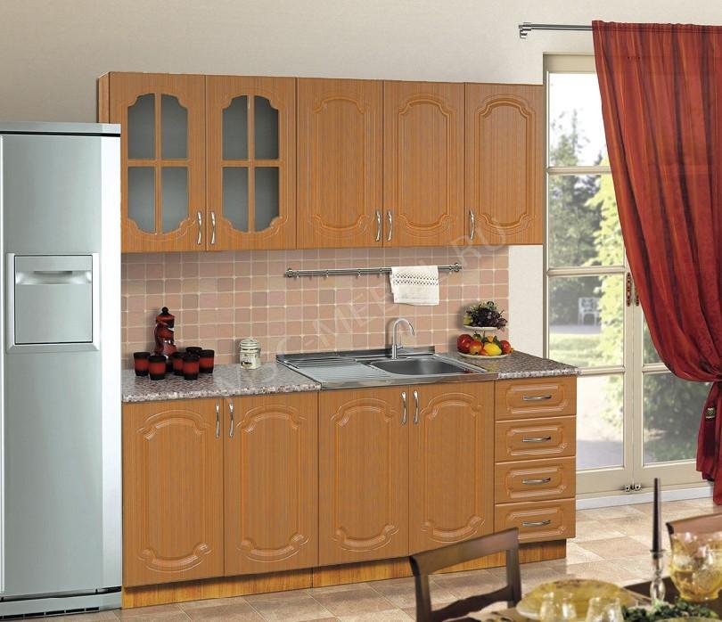 Фото Прямая кухня Дарина в классическом стиле