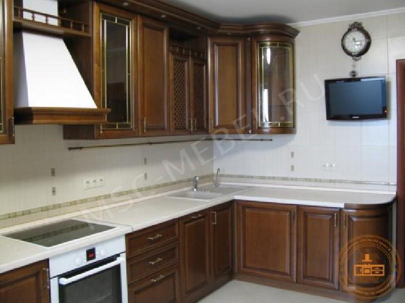 Фото Кухня из массива дерева «София плаза»