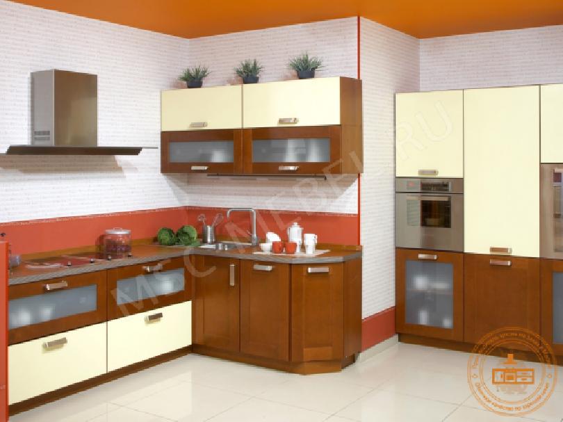 Кухня из массива дерева «Простор»