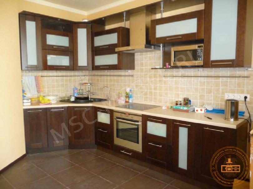 Кухня из массива дерева «Милана»