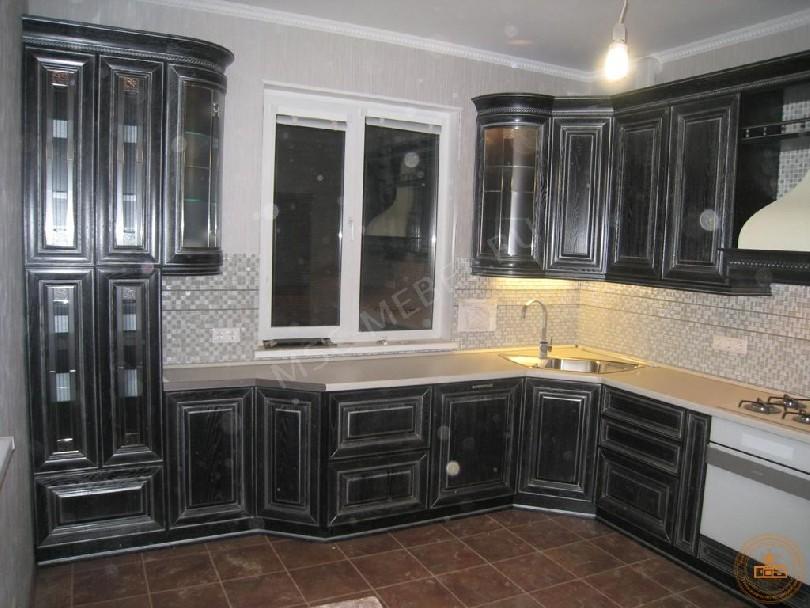 Кухня из массива дерева «Колизей»