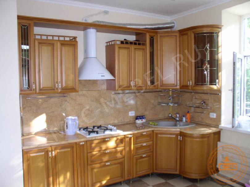 Кухня деревянная Мария