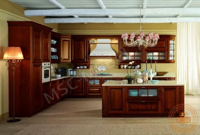 Кухня из массива дерева «Мирано»