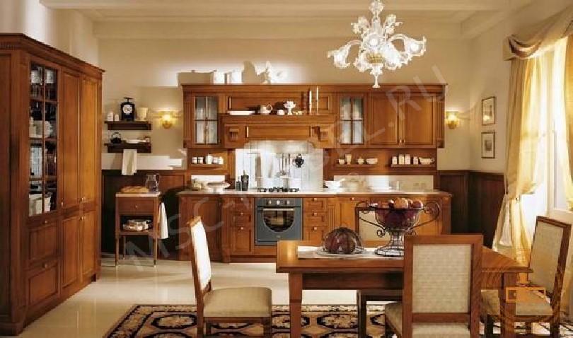 Кухня из массива дерева «Сопрано»