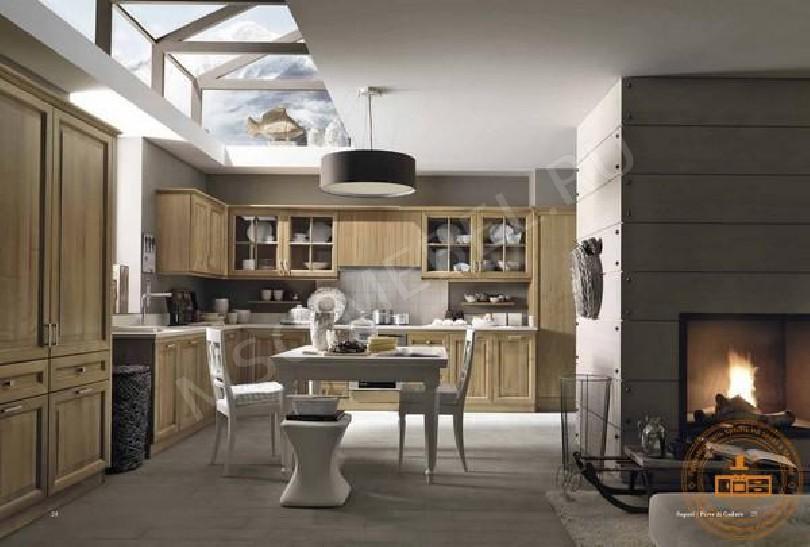 Кухня из массива дерева «Тоскана»