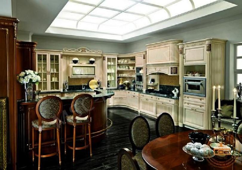 Фото Кухня из массива дерева «Эллада»