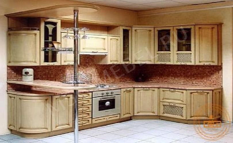 Фото Деревянная кухня Эмилия