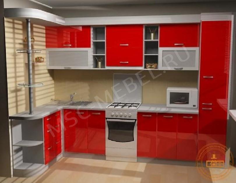 Кухня из пластика «Марлен»