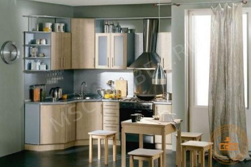 Фото Угловая кухня «Карпатская ель»