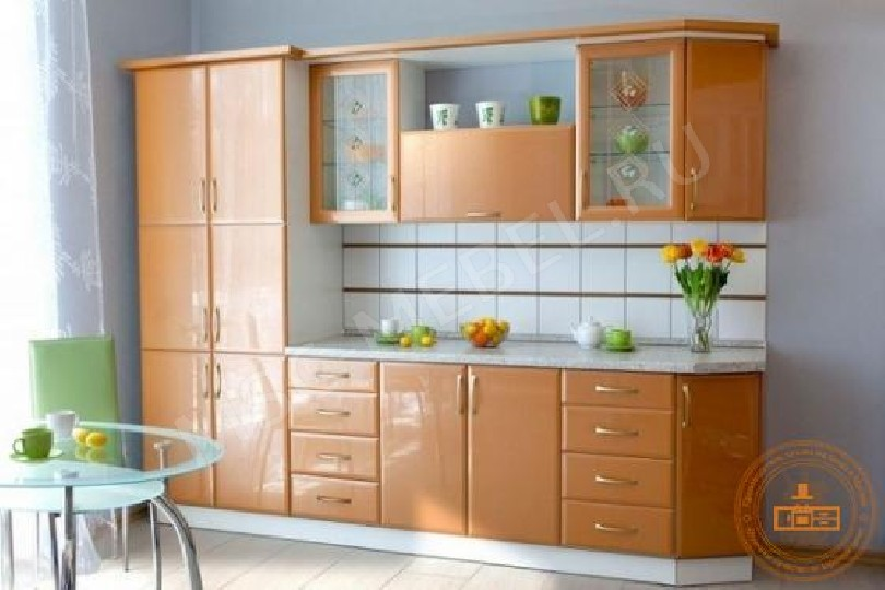 Фото Каталог кухонь «Оранжевый глянец»