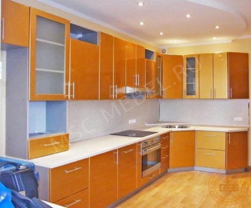 Каталог кухонь «Персик перламутр»