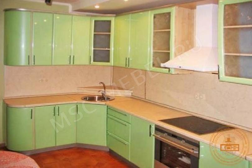 МДФ-кухня «Салат перламутр 3»