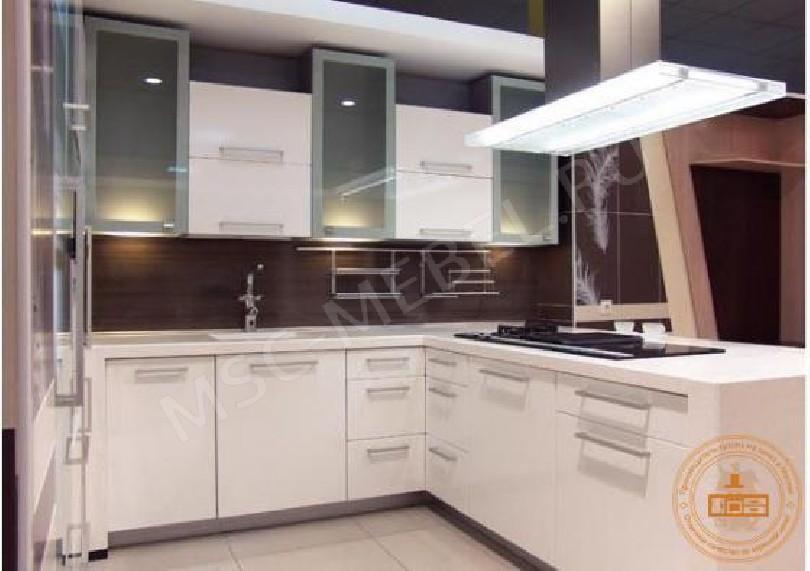 Фото Модульная кухня Глория (светлая ольха)