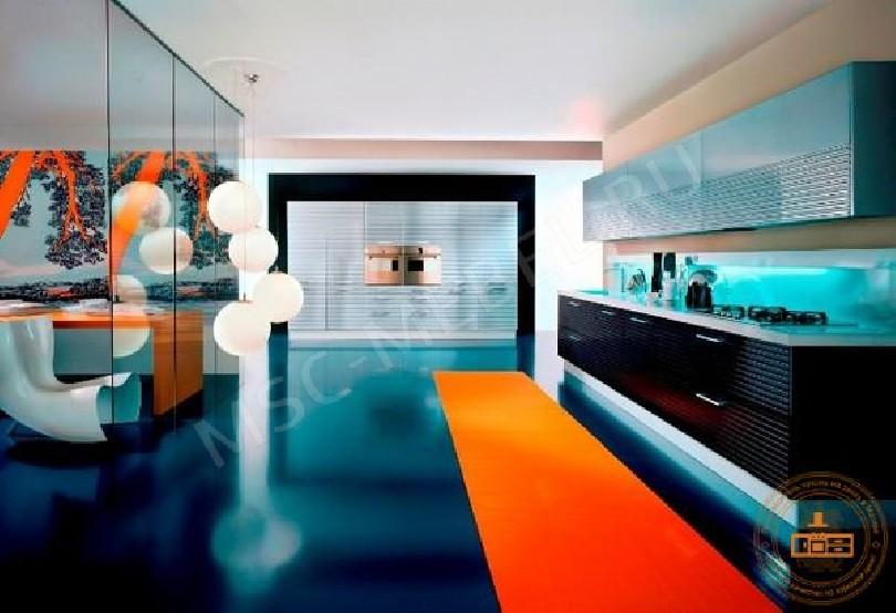 Кухня в стиле модерн Сильвия