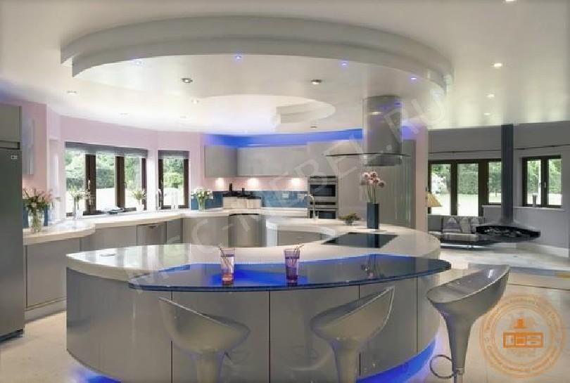 Фото Кухня в стиле модерн Лагуна