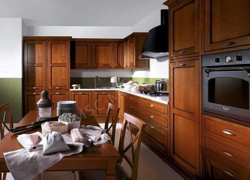 Кухня из массива дерева «Муссон»
