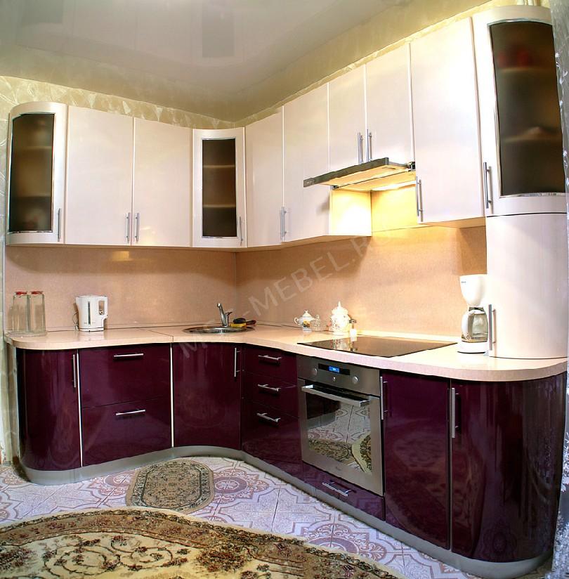 Фото Кухня из пластика «Моргана»