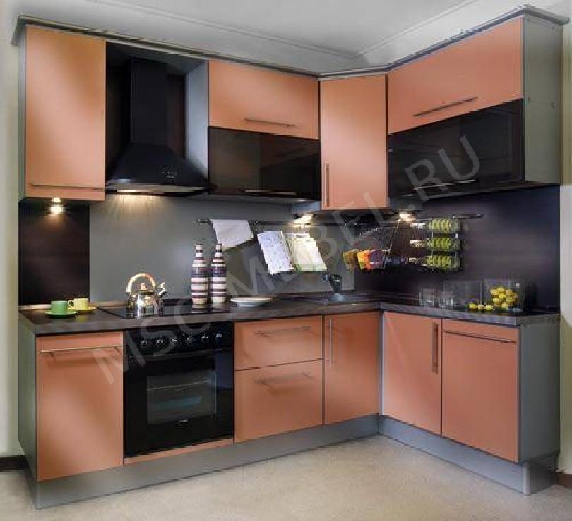 Фото Яркая угловая кухня «Стоун»