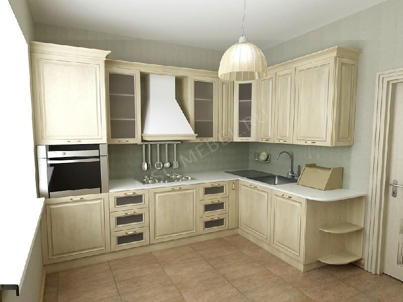Угловая кухня «Буржуа»