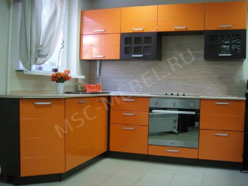 Фото Угловая кухня «Каррот»