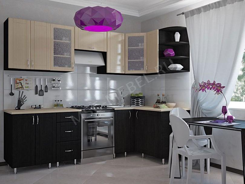 Фото Угловая кухня Шервуд в современном стиле