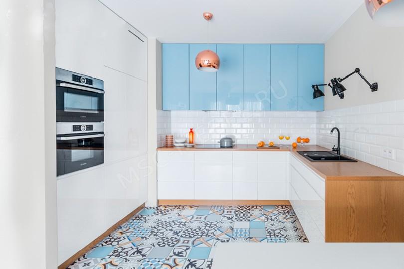 Фото Встроенная кухня Диана