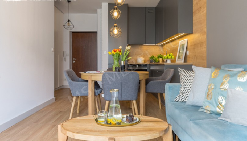 Фото Угловая серая кухня Глория