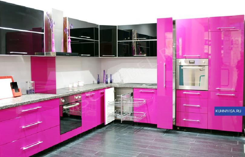 Фото Кухня Лиана с выдвижными шкафами