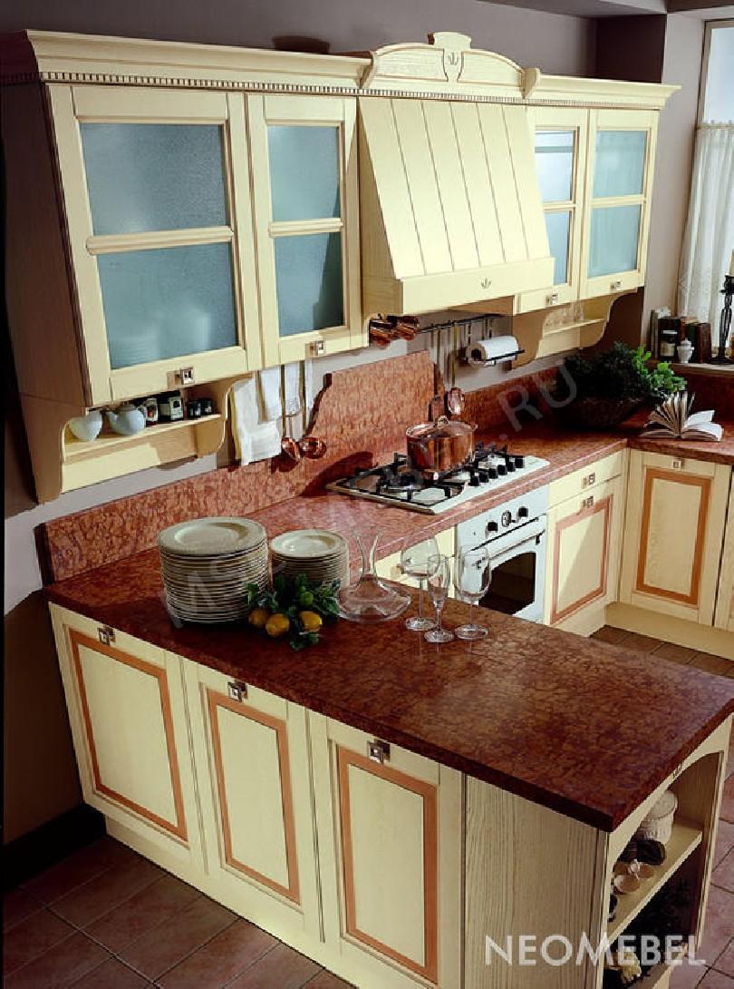 Фото Кухня Moca из массива ясеня