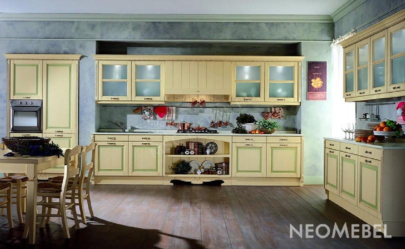 Фото Кухня Verde из массива ясеня