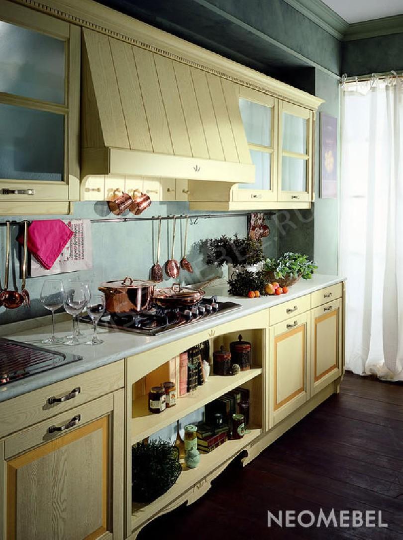 Фото Кухня Ocra из ясеня в классическом стиле