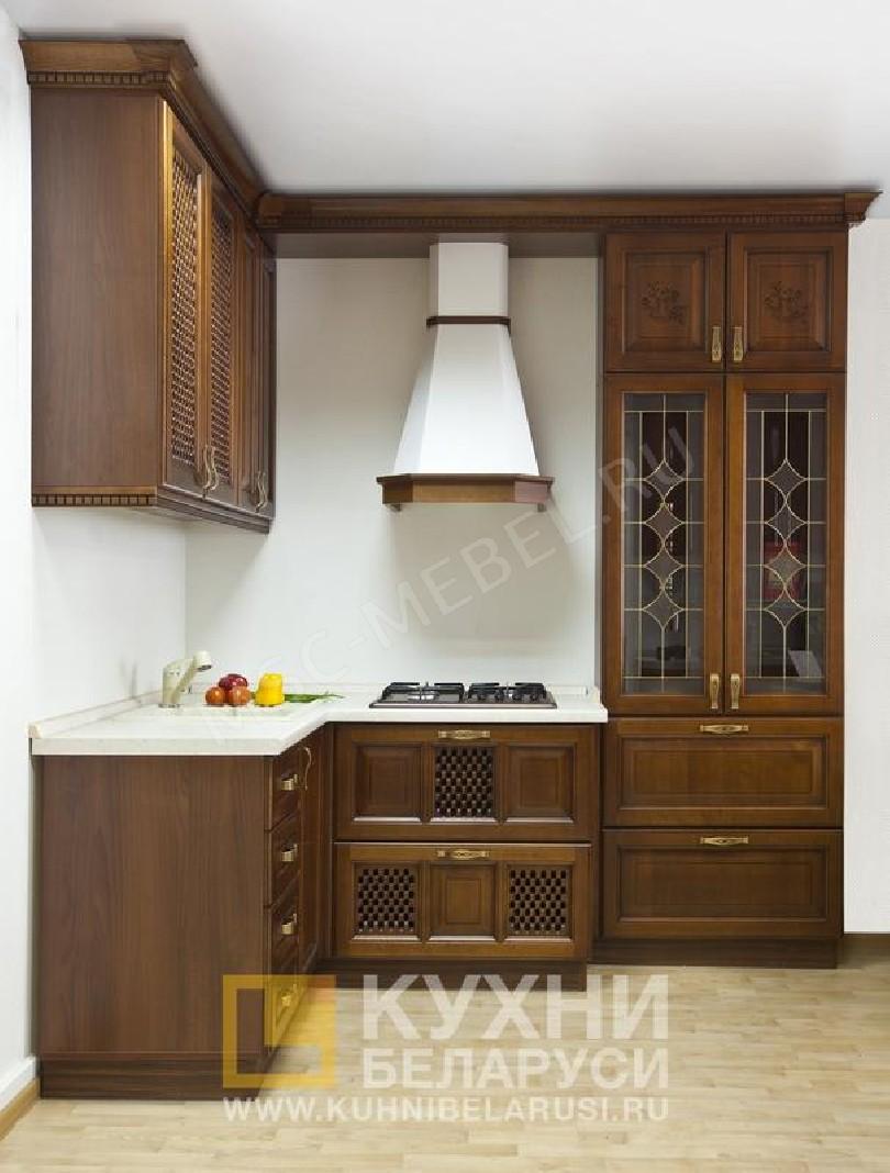 Фото Кухня Онатано Натуральный из массива ольхи