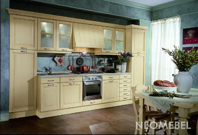Фото Кухня Corda из массива ясеня