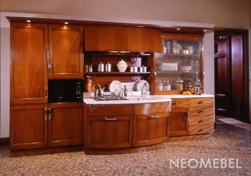 Фото Модульная кухня Lofty с подсветкой