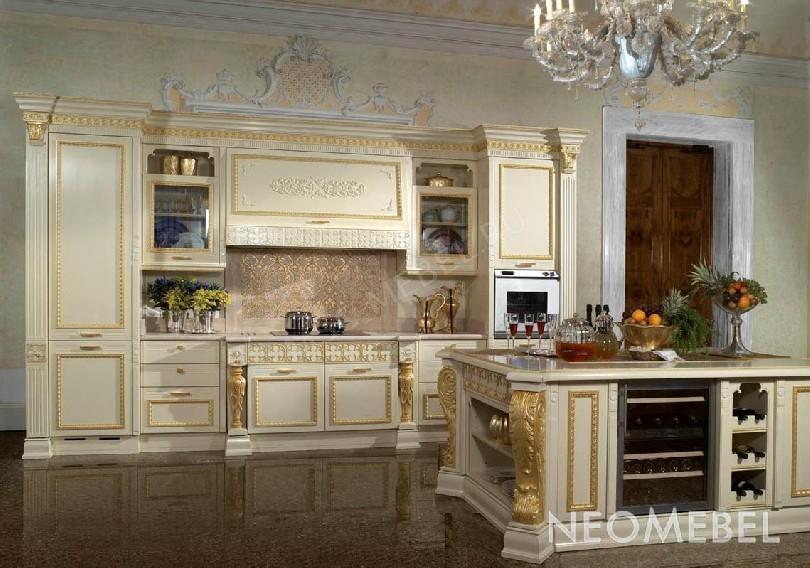 Фото Кухня Prestige Ducale из массива ореха