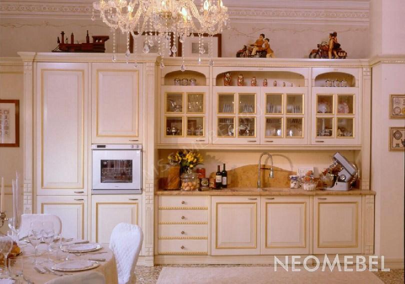 Фото Кухня Victoria со столешницей из мрамора