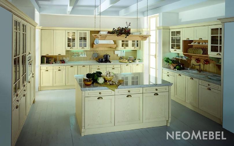 Фото П-образная кухня Corda с островом