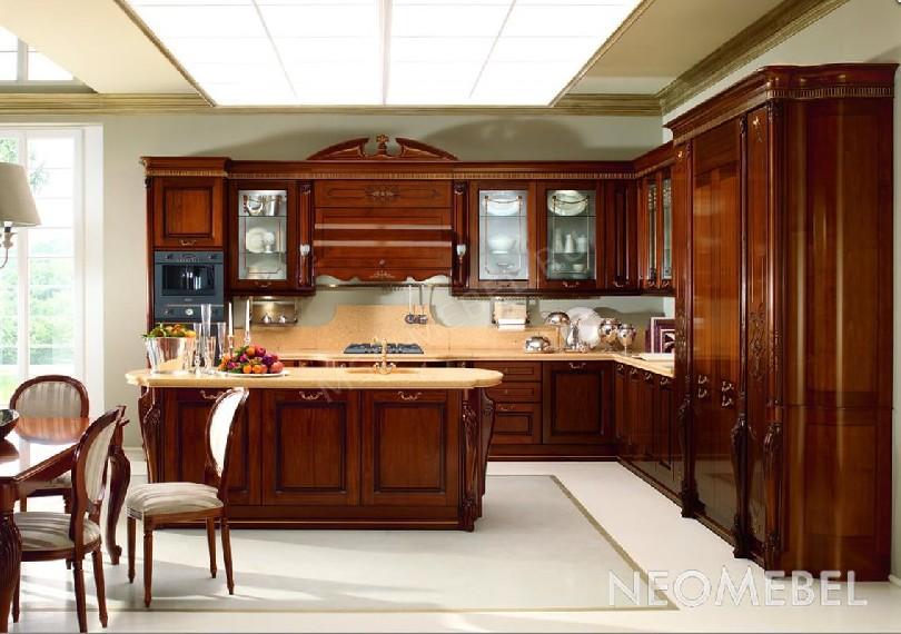 Фото Угловая кухня Artemide noce Tomassi