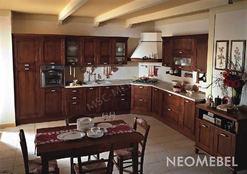 Кухня гостиная в стиле неоклассика «Siviglia»